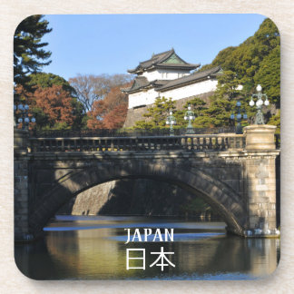 Imperial palace in Tokyo, Japan Coaster