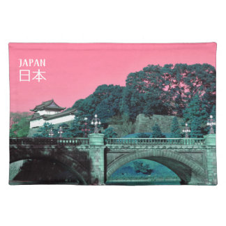 Imperial palace in Tokyo, Japan Placemat
