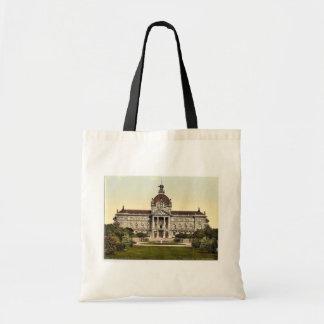 Imperial Palace, Strassburg, Alsace Lorraine, Germ Canvas Bag