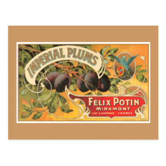 Imperial Plums Post Card