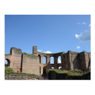 Imperial Roman Baths Postcard