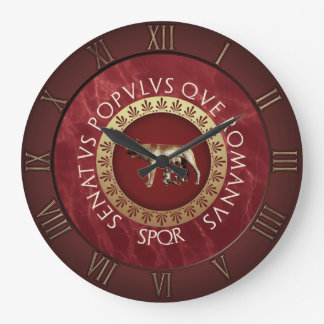 Imperial Rome Large Clock