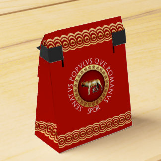 Imperial Rome Party Favour Boxes