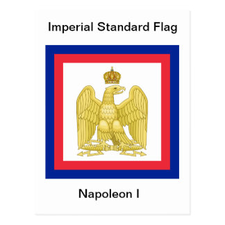 Imperial Standard Flag of Napoleon I Postcard
