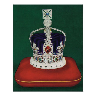 Imperial State Crown of England Posters