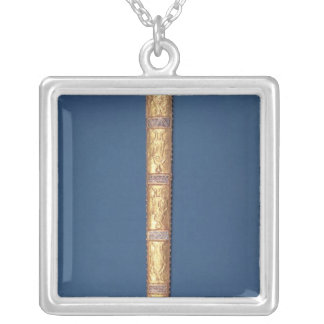 Imperial Sword of the Holy Roman Emperors Square Pendant Necklace