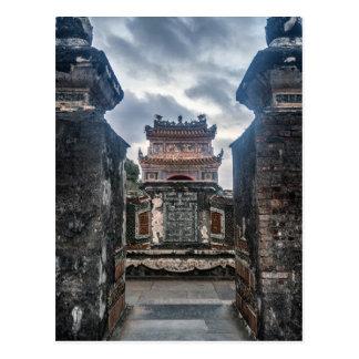 Imperial Tomb of Emperor Tu Doc, Hue Vietnam Postcard