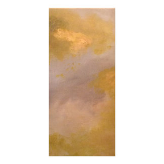 Imperial Topaz Abstract Painting Rack Cards