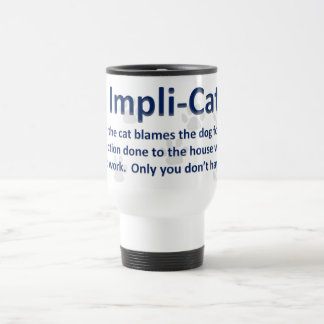 Impli-Cat Wide Travel Mug