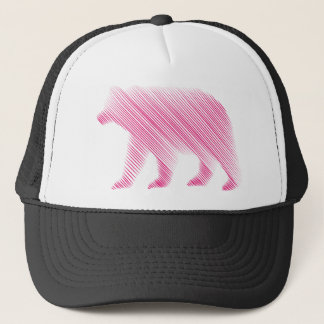 Implied Pink Bear Trucker Hat