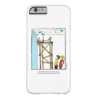 IMPORTANT cartoon by Ellen Elliott Barely There iPhone 6 Case