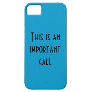 Important iPhone 5 Case