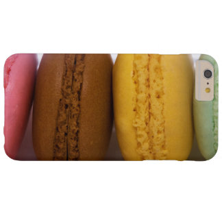 Imported gourmet French macarons (macaroons) Barely There iPhone 6 Plus Case