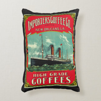Importers Coffee Decorative Cushion