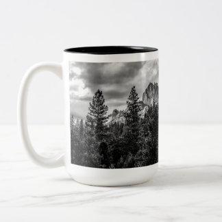 Imposing Two-Tone Coffee Mug