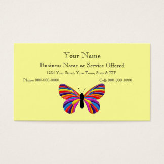 Impossible Butterfly Business Card