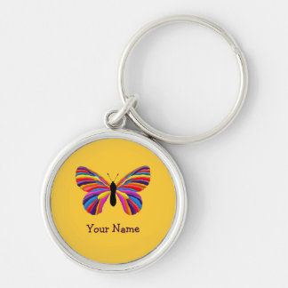 Impossible Butterfly Key Ring