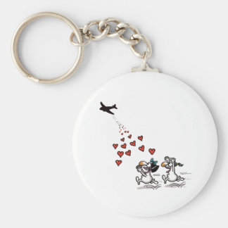 Impossible Love - Love Aid Basic Round Button Key Ring