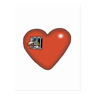 Impossible Love - Love Prisoner Postcard