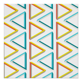 Impossible triangles geeky pattern