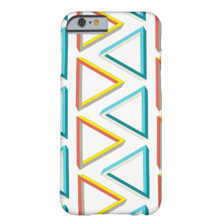 Impossible triangles geeky pattern barely there iPhone 6 case