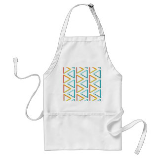 Impossible triangles geeky pattern standard apron