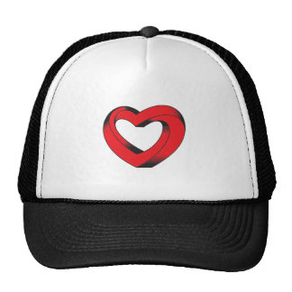impossibly twisted heart cap