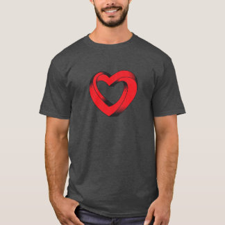 impossibly twisted heart T-Shirt