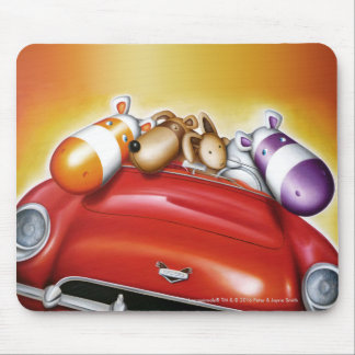 Impossimal© - 'This Is How We Roll' Mouse Pad
