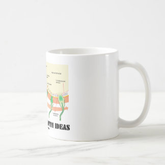 Impregnated With Ideas (Sperm Egg Fertilization) Coffee Mug