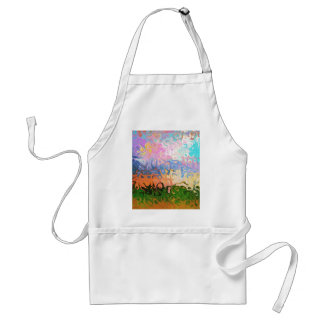 Impression Of Abstraction Abstract Design Standard Apron