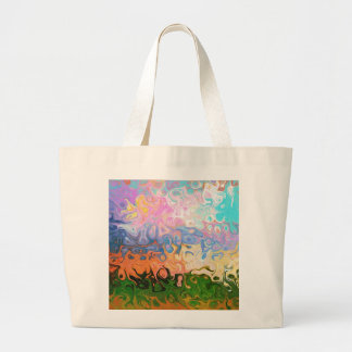 Impression Of Abstraction Abstract Design Tote Bag