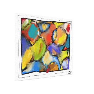 """Impression on fabric, very small, """"Concealments Canvas Print"""