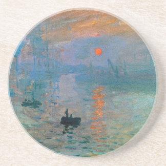 Impression Sunrise by Claude Monet Coaster