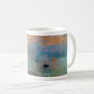 Impression Sunrise by Claude Monet Coffee Mug