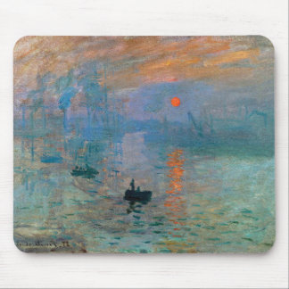 Impression Sunrise by Claude Monet Mouse Pad