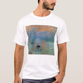 Impression Sunrise by Claude Monet T-Shirt