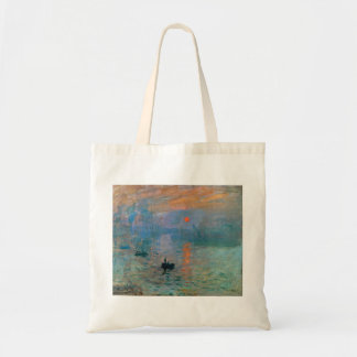 Impression Sunrise by Claude Monet Tote Bag
