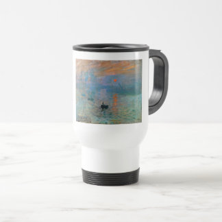 Impression Sunrise by Claude Monet Travel Mug