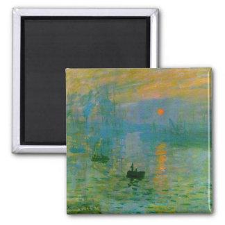Impression Sunrise Fine Art Magnet