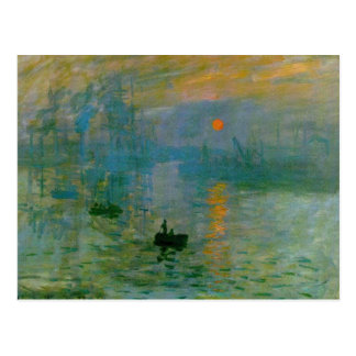 Impression, Sunrise Post Cards