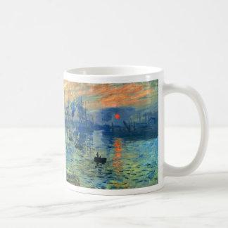 Impression Sunrise, Soleil Levant, Claude Monet Coffee Mugs