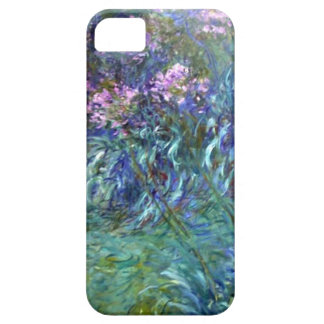 Impressionism Agapanthus Flowers by Monet iPhone 5 Cases