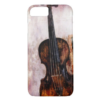impressionism  musical instrument Fiddle Violin iPhone 8/7 Case
