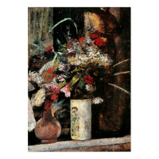 Impressionist art foral bouquet blooms by Ury Large Business Cards (Pack Of 100)
