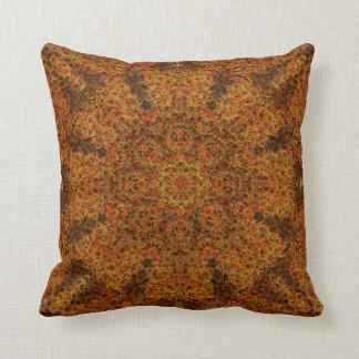 Impressionist Mandala Pillow 1