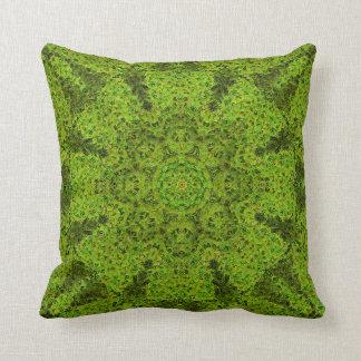 Impressionist Mandala Pillow 2