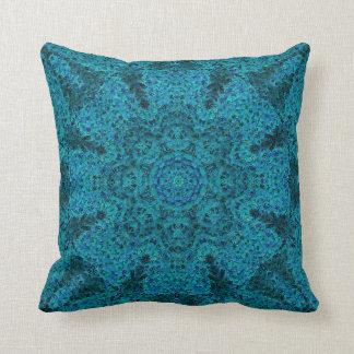 Impressionist Mandala Pillow 3