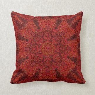 Impressionist Mandala Pillow 4
