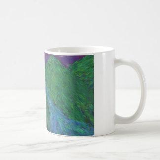 Impressionist Mountains on Mug